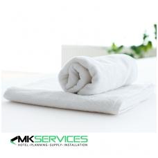 Baltas frotinis rankšluostis 430g/m2
