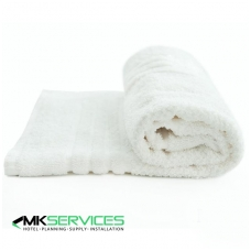 White bath mat 650 g/m2