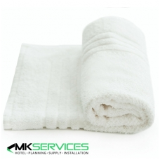 White bath mat 750 g/m2