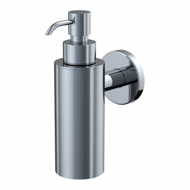 Liquid soap dispenser wall mounted 125ml, chrome