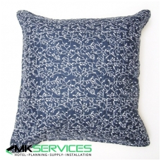Pillow and pillow case set blue