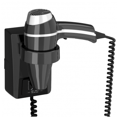 Plaukų džiovintuvas Clipper II Black JVD