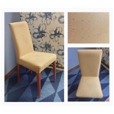 Dining chair creamy/grey