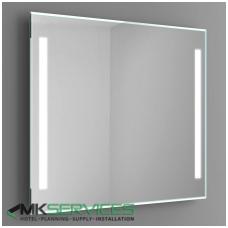 Bathroom mirror 1000x1000 mm