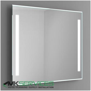 Vonios veidrodis 1000x1000mm
