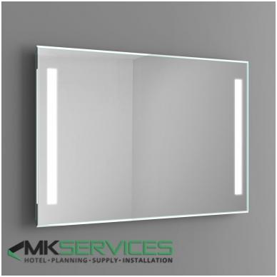Bathroom mirror 1000x800 mm