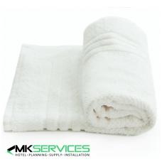 White bath mat 750 g/m2